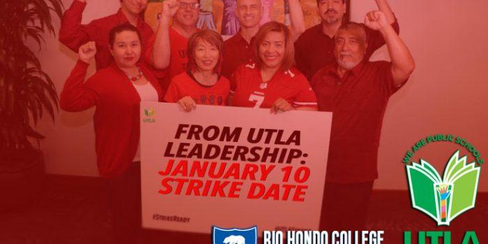 UTLA Strike Notice