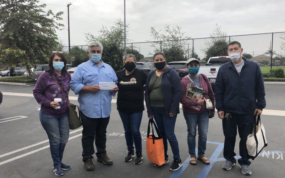 Rio Hondo Classified Staff on the Campaign Trail in Los Nietos – Vote for Gary Mendez
